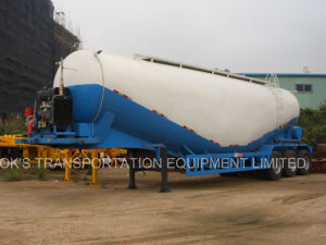 35m3 3axle Bulk Cement Semi Trailer pictures & photos