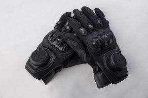 Police Arrest Criminal Gloves with Leather Material pictures & photos