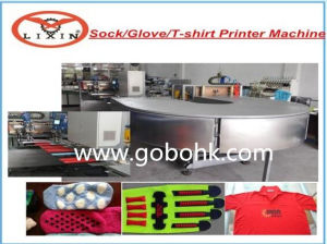 High Capacity Automatic Socks and Glove Silicone Printing Machine pictures & photos