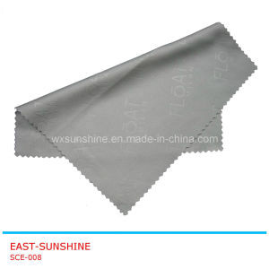 Pure Color Straight Edge Soft Touch Microfiber Glasses Cloth (SCE-008) pictures & photos