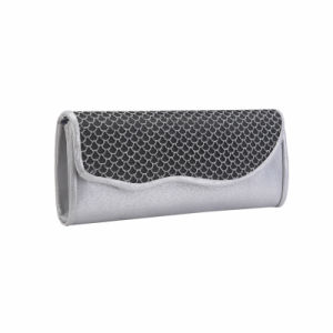 Silver Shimmery Fish Scale Front Clutch Bag (MBNO041164) pictures & photos