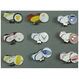 Ca/ Ti/TM V New Cap Clip Golf Ball Marker with Magnetic Different Brand Multi Style Color pictures & photos
