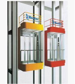 Square Observation Elevator
