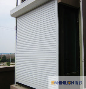 Aluminum Roller Shutter Window and Roller Shutter Door pictures & photos