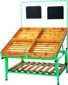 Vegetable Shelf, Display Shelf for Shop (CEG-R009) pictures & photos