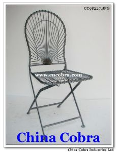 Metal Foldable Chair (CC98227)