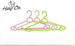Rotating Hook Plastic Clothes Hanger