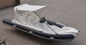 2017 Well Design Rigid Hull Fiberglass Boat PVC Material Inflatable Boat with Ce China pictures & photos