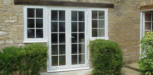 Double Glazing Aluminum Frame Casement Swing Door pictures & photos