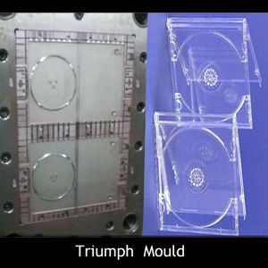 Transparent CD Case Injection Mold pictures & photos