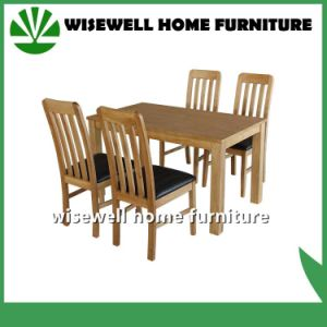 Solid Oak Wood Dining Furniture (W-DF-9026) pictures & photos