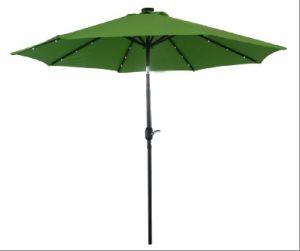 2.7m Garden LED Market Umbrella for Outdoor