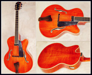 "17"" Jazz Guitar Stock Abailable (YZ-15LA)"