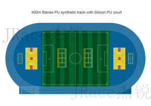 Guangzhou Hot Sale Athletic Rubber Runway Manufacturer pictures & photos