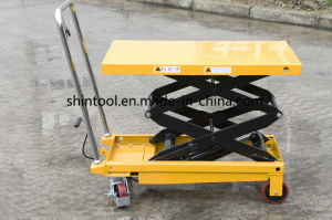 Chinese Mini Scissor Manual Lifting Table Sps800 pictures & photos