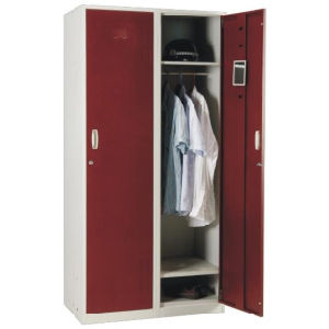 2 Door Metal Locker Cabinet