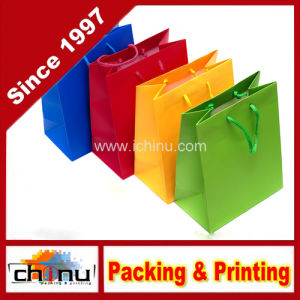 Custom Fashion Shopping Paper Bag (5129) pictures & photos