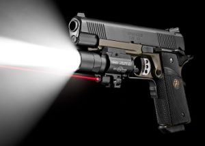 X400u Handgun Tactical Flashlight with Red Laser Sight pictures & photos