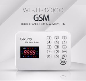 Factory Outlets Wireless GSM Alarm System with Touch Keypad pictures & photos