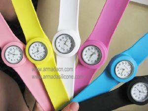 Promotion Quartz Silicone Slap Watch (AI-E105)