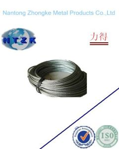 7*7 Ungalvanzied and Galvanized Steel Rope, Chinese Steel Wire Rope pictures & photos