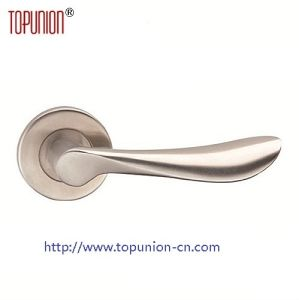 Stainless Steel Solid Door Lever Handle with En1906 (CLH005) pictures & photos