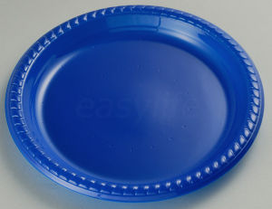 Easylife P092220 9′′ (22cm) Round Plate PS Blue pictures & photos