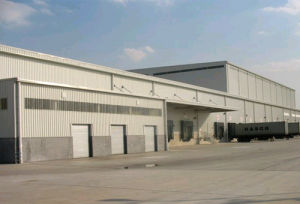 Prefab Steel Structure Warehouse Building