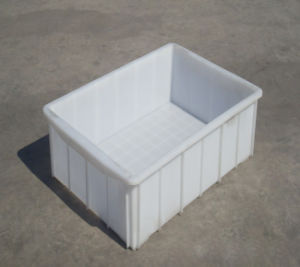 Solid Plastic Crate for Food and Vegetable (JW-CN1407225) pictures & photos