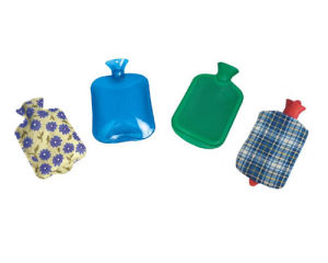 Medical Rubber Hot Water Bag pictures & photos