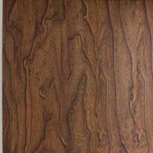 V Goove at Four Side Paint Synchronized Vein Laminate Flooring 7705 pictures & photos