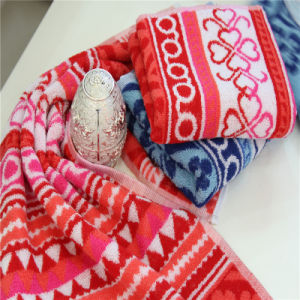 Yarn Dyed Jacquard Hand Towel