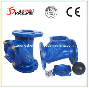 Flanged Ends Ball Type Check Valve pictures & photos