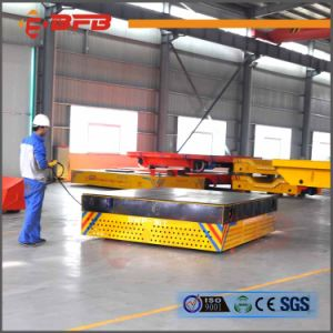 Steerable Environmental Steel Pipe Trackless Cart pictures & photos