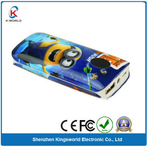 5600mAh Mobile Power Bank with Logo Printing pictures & photos