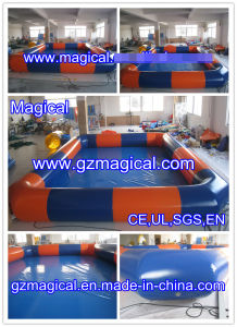 Happy Fun Inflatable Swimming Pool in Summer (MIC-414) pictures & photos