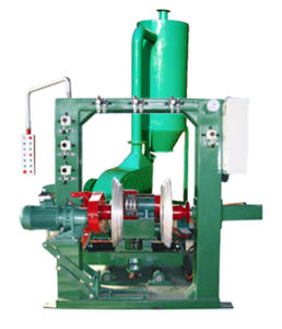 Tyres Grinding Machine Including Materials Collector
