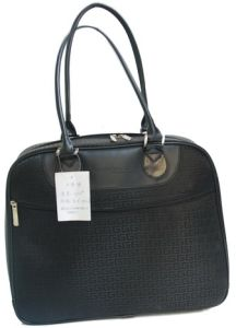 Black Ladies Handbag Laptop Shoulder Bag (SW3008) pictures & photos
