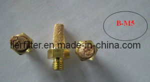 M5 Style Pneumatic Silencer with Bronze Powder by Sintered