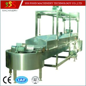Automatic Continuous Fryer Frying Machine with Oil Filter pictures & photos