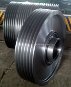 Large Cast Steel Casting Pulley for Mining Machine