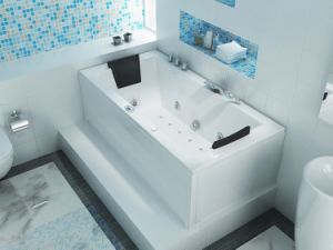 Best Selling White Massage Bathtub Rt1802
