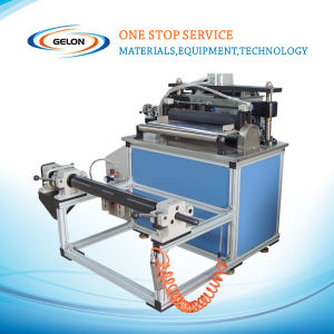 Lab Battery Cutting and Slitting Machine for Lithium Battery Electrode pictures & photos