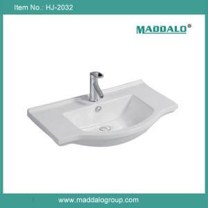 Ceramic Cabinet Basin, Cabinet Wash Basin (HJ-2032)