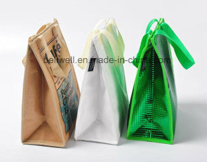 Grocery Lunch Tote Cooler Value Aluminium Thermal Bag pictures & photos