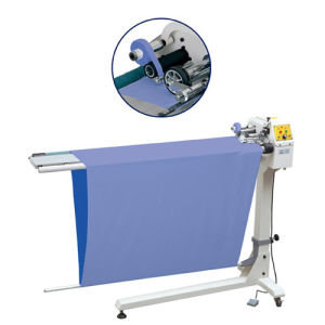 Automatic Cutting and Hem Embroidering Machine pictures & photos