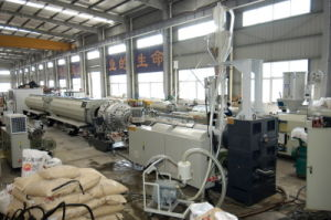 HDPE Gas and Water Pipe Extrusion Line Plastic Machinery pictures & photos