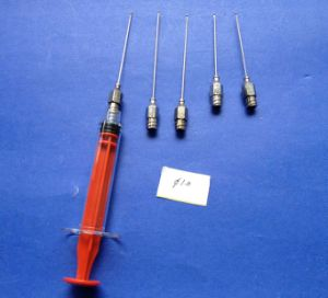 Diameter 1.0 Mm Injection Needle Cannulas, Liposuction Cosmetic Surgery Set, Luer Lock Cannula pictures & photos