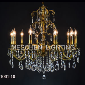 Crystal Chandelier French Vintage Lighting Fixture
