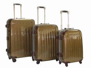 Polycarbonate Trolley Case Aluminium Frame Mahd-02